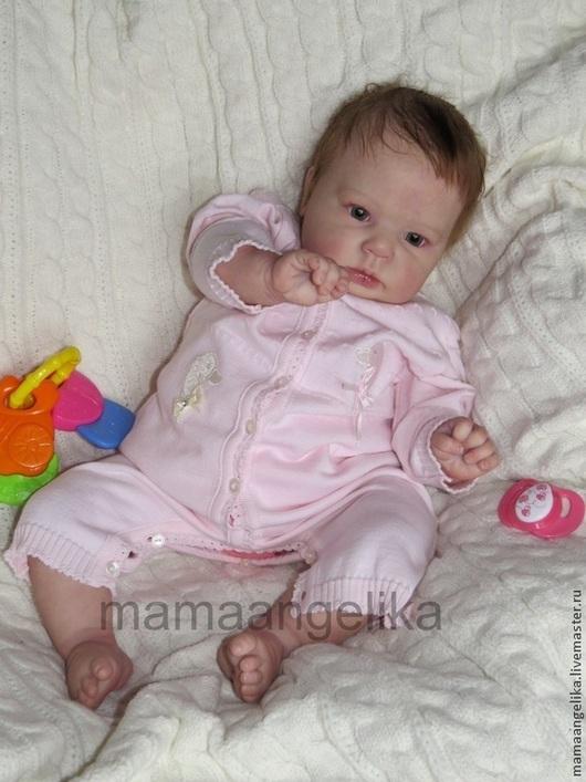 Куклы-младенцы и reborn ручной работы. Ярмарка Мастеров - ручная работа. Купить Кукла реборн Кира (молд Кристал). Handmade.
