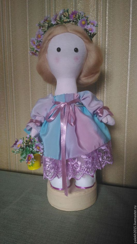 Куклы тыквоголовки ручной работы. Ярмарка Мастеров - ручная работа. Купить кукла тыквоголовка. Handmade. Сиреневый, кукла в подарок