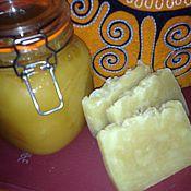 Косметика ручной работы. Ярмарка Мастеров - ручная работа Натуральное мыло медовое. Handmade.