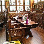 Для дома и интерьера ручной работы. Ярмарка Мастеров - ручная работа Резная мебель на заказ. Handmade.