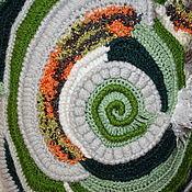 """Одежда ручной работы. Ярмарка Мастеров - ручная работа Жилет в технике """"Фриформ"""" крючком.. Handmade."""