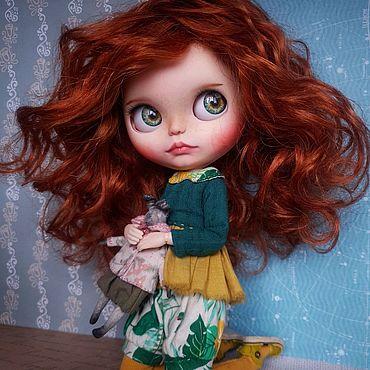 Куклы и игрушки ручной работы. Ярмарка Мастеров - ручная работа Кукла Блайз / Custom Blythe doll. Handmade.