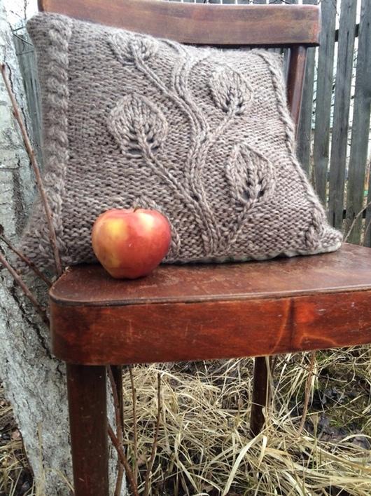 Текстиль, ковры ручной работы. Ярмарка Мастеров - ручная работа. Купить Диванная подушка -Лесная сказка. Handmade. Подушка
