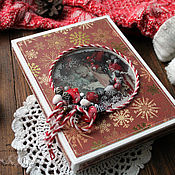 Сувениры и подарки handmade. Livemaster - original item Christmas card
