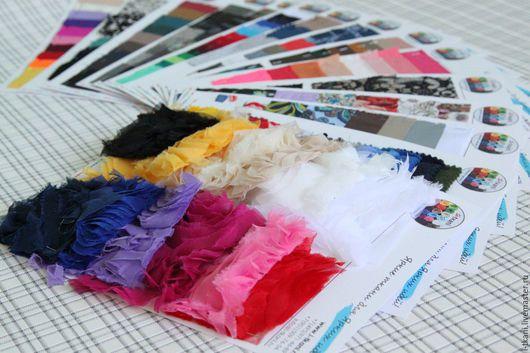 Мы отправляем карты с образцами тканей нашего магазина своим покупателям!  Стоимость 1 одной карты - 50руб. Уточнять наличие карт по заинтересовавшим Вас тканям  можно у нашего менеджера.