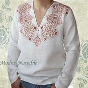 Одежда ручной работы. Ярмарка Мастеров - ручная работа рубашка мужская, Святкова, рубаха, вышиванка мужская, бохо, бохо шик. Handmade.