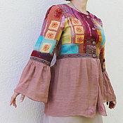 """Одежда ручной работы. Ярмарка Мастеров - ручная работа Жакет валяный """"Андалусия"""". Handmade."""