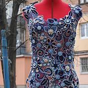 """Одежда ручной работы. Ярмарка Мастеров - ручная работа Платье"""" Аквамарин """". Handmade."""