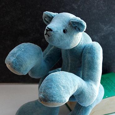 Куклы и игрушки ручной работы. Ярмарка Мастеров - ручная работа Авторский мишка Тедди Эллиот. Handmade.