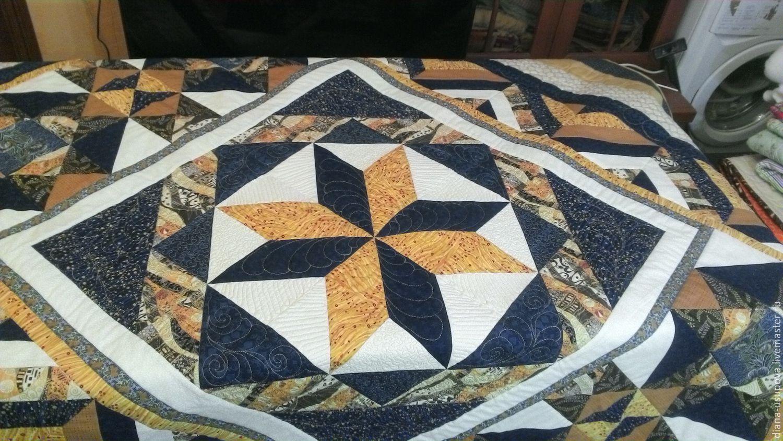 Patchwork bedspread 'Star in the night', Blankets, Nizhny Novgorod,  Фото №1