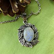 Фен-шуй и эзотерика handmade. Livemaster - original item Pendant with natural moonstone. Handmade.