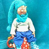 Куклы и игрушки ручной работы. Ярмарка Мастеров - ручная работа Домовенок Сладкоежка. Handmade.