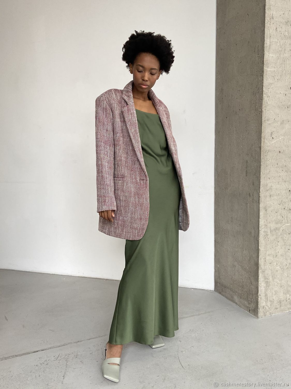 Dress - combination of viscose silk, Dresses, Moscow,  Фото №1