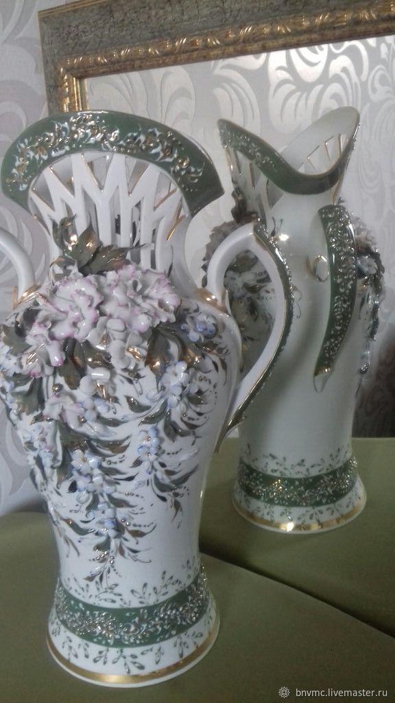 ваза, Экстерьерные, Гаджиево,  Фото №1