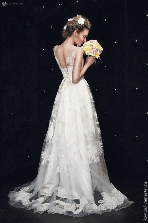Свадебные цветы ручной работы. Ярмарка Мастеров - ручная работа. Купить Букет невесты ручной работы Цвета апреля. Handmade.