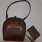 Сумки винтажные ручной работы. Ярмарка Мастеров - ручная работа Винтажные сумки: Винтажная сумка. Handmade.