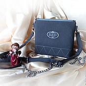 Сумки и аксессуары handmade. Livemaster - original item Handbag with embroidery