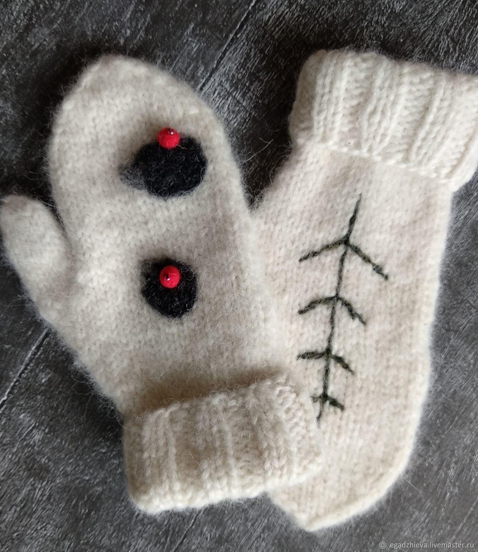 Children's mittens: hedgehogs, Childrens mittens, Tyumen,  Фото №1