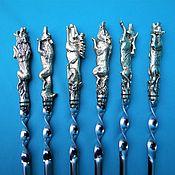 Сувениры и подарки handmade. Livemaster - original item Gifts: Set of skewers Hunting. Handmade.