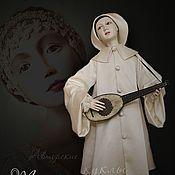 """Куклы и игрушки ручной работы. Ярмарка Мастеров - ручная работа Фарфоровая кукла """"Пьеро"""".. Handmade."""