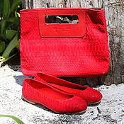Сумки и аксессуары handmade. Livemaster - original item Bag genuine Python leather. Handmade.