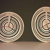 Для дома и интерьера ручной работы. Ярмарка Мастеров - ручная работа Часы Круг Овал. Handmade.