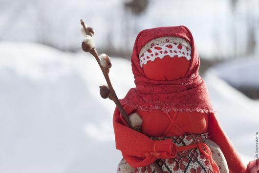 Народные куклы ручной работы. Ярмарка Мастеров - ручная работа. Купить Кукла народная Пасха красная. Handmade. Ярко-красный