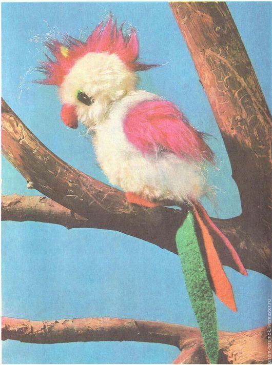 Обучающие материалы ручной работы. Ярмарка Мастеров - ручная работа. Купить Попугай - выкройка и инструкция по шитью. Handmade. Комбинированный