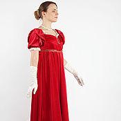 Одежда ручной работы. Ярмарка Мастеров - ручная работа Историческое бальное платье эпохи Ампир. Handmade.
