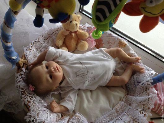 Куклы-младенцы и reborn ручной работы. Ярмарка Мастеров - ручная работа. Купить Реборн Каденс. Handmade. Бежевый, Молд