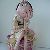 Гламур. Авторская интерьерная кукла.