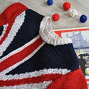 """Одежда handmade. Livemaster - original item Sweater """"British flag"""". Handmade."""
