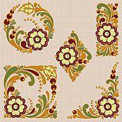 Материалы для творчества handmade. Livemaster - original item Machine Embroidery Designs Set of Slavic Motifs 14 x 20 cm. Handmade.