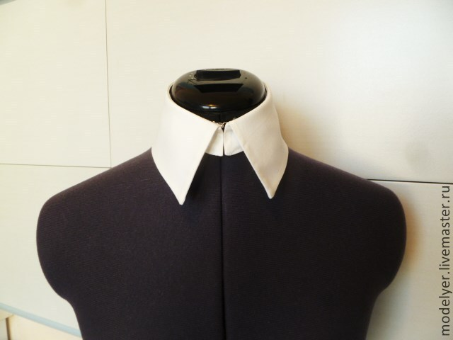 The collar is detachable OFIS cotton white, Collars, Moscow,  Фото №1