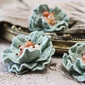 Украшения handmade. Livemaster - original item Kit felted brooches-babies. Handmade.