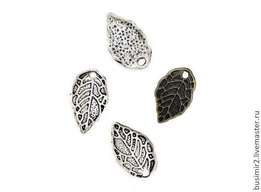 Подвеска, цвет - бронза, серебро. Фурнитура для создания украшений. Busimir