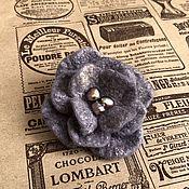 Украшения handmade. Livemaster - original item Royal purple, brooch. Handmade.