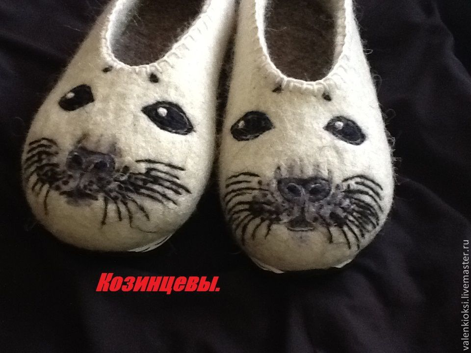 Slippers 'Seal', Slippers, Volgodonsk,  Фото №1