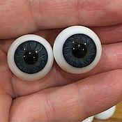 Куклы и пупсы ручной работы. Ярмарка Мастеров - ручная работа Глаза стеклянные #20 сфера. Handmade.