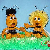 Материалы для творчества ручной работы. Ярмарка Мастеров - ручная работа Мастер-Класс пчелки Майя и Вилли. Handmade.