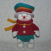 Подарки к праздникам handmade. Livemaster - original item Nathaniel Christmas, toy snowman. Handmade.