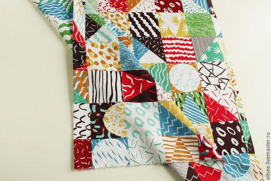 """Шитье ручной работы. Ярмарка Мастеров - ручная работа. Купить Ткань """"Пэчворк """" №7. Handmade. Ткань для творчества, ткань"""