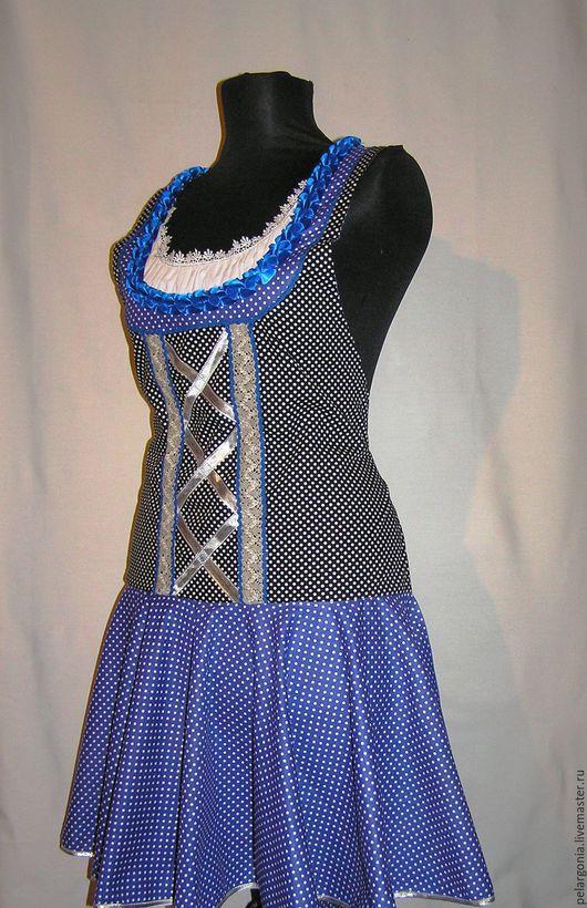 """Кухня ручной работы. Ярмарка Мастеров - ручная работа. Купить Фартук женский """"Бавария-1""""(дирндль, народный костюм,октоберфест)). Handmade."""