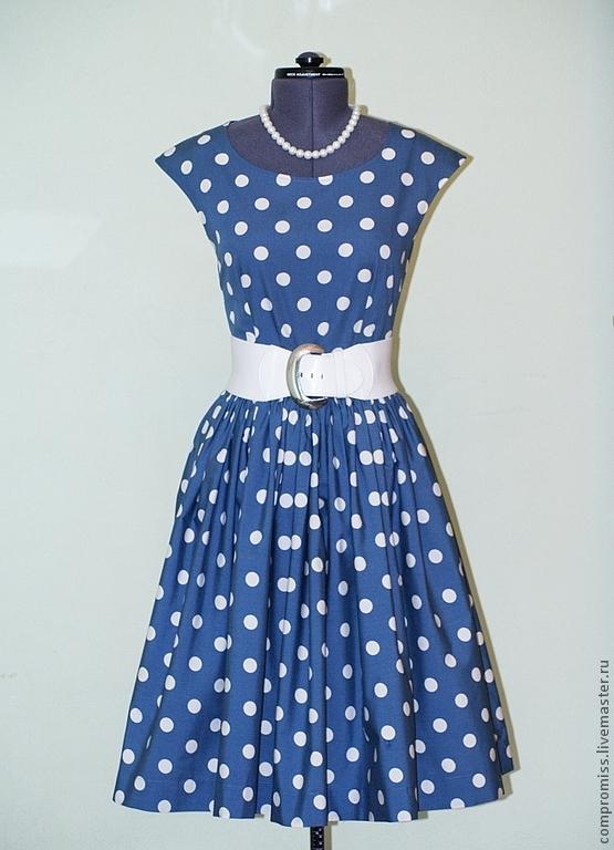 Платья в горошек стиляги