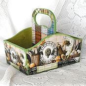 Для дома и интерьера handmade. Livemaster - original item Box for spices Cozy country. Handmade.