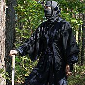 Одежда ручной работы. Ярмарка Мастеров - ручная работа Синоби-сёдзоку (костюм ниндзя) для тренировки, выступлений. Handmade.