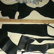 Материалы для творчества ручной работы. Ярмарка Мастеров - ручная работа обрезки кожи натуральной. Handmade.