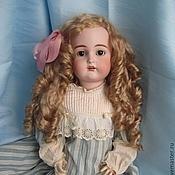 Куклы и игрушки ручной работы. Ярмарка Мастеров - ручная работа Мохеровый парик для куклы. Handmade.