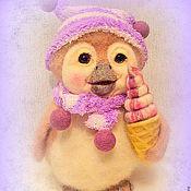 Куклы и игрушки ручной работы. Ярмарка Мастеров - ручная работа игрушка войлочная  пингвиненок Джем. Handmade.