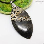 Украшения handmade. Livemaster - original item Pendant Jasper Shore of another world. Handmade.